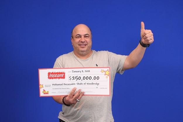 Woodbridge man wins $250K in instant-win lottery game