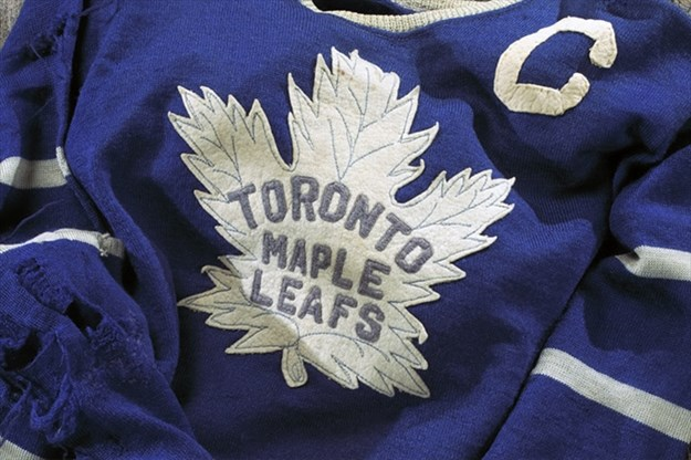 new style be855 fe3a2 Hockey Hall of Fame Toronto Maple Leafs Centennial Exhibit A ...