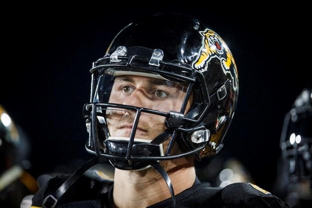 Hamilton Tiger-Cats quarterback Johnny Manziel - Mark Blinch dc9d14c5f