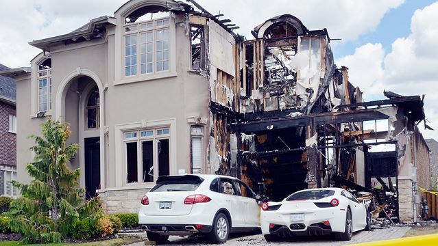 Fire Damage At Kleinburg Home Estimated At 5m Several Luxury Cars
