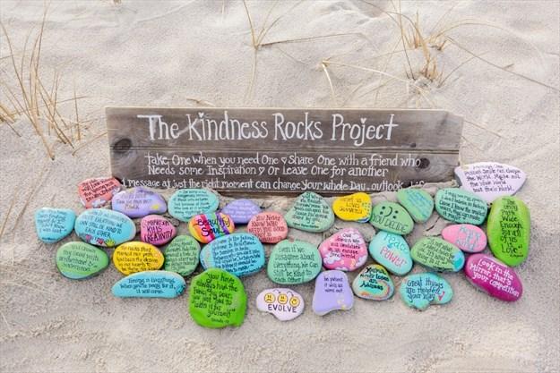 Paint It Forward Sending Positive Vibes On Painted Rocks