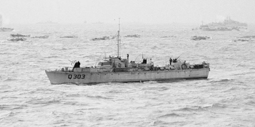 Fairmiles were used to hunt submarines in WWII