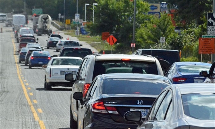 Commuters see red over traffic snarls on Highway 12 in the
