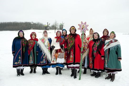 Ukrainian Christmas.Food Gluten Free Goodness Ukrainian Christmas Style