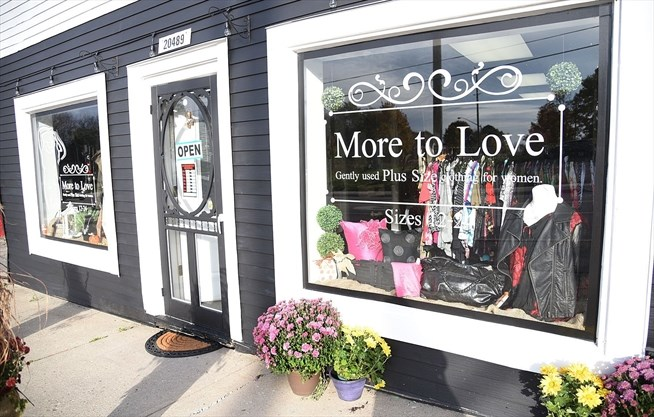 6a75e61ba6a The More To Love store offers gently used women s plus-size clothing. It is  located at 20489 Leslie St. in Queensville. Oct. 16