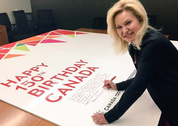 City attempts to set world record with longest birthday card for the city of mississauga is attempting to set a guinness world record to create the worlds longest greeting card in celebration of canadas 150th birthday bookmarktalkfo Gallery