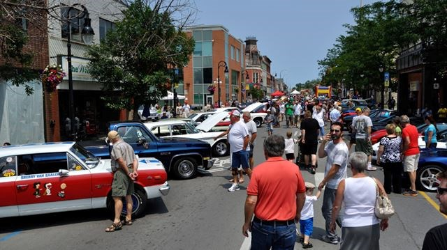 Classic Car Show Returns To Downtown St Catharines - Car show downtown