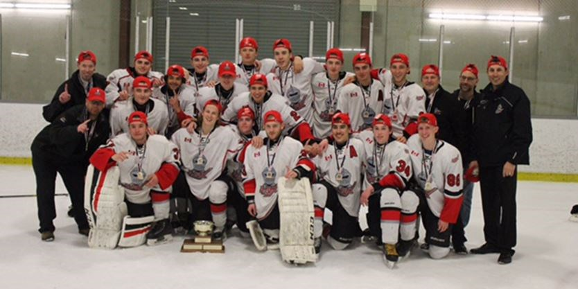 Ajax hockey midget pickering will