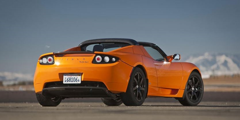 With The Tesla Model S And X Now Defining Brand It Weird To Look Back At Lotus Based Roadster Knowing Little Two Seater Is