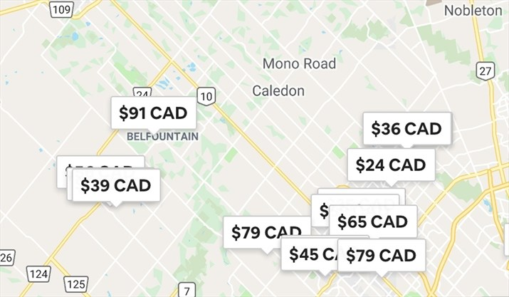 Short-term property rentals not permitted in Caledon, but they're