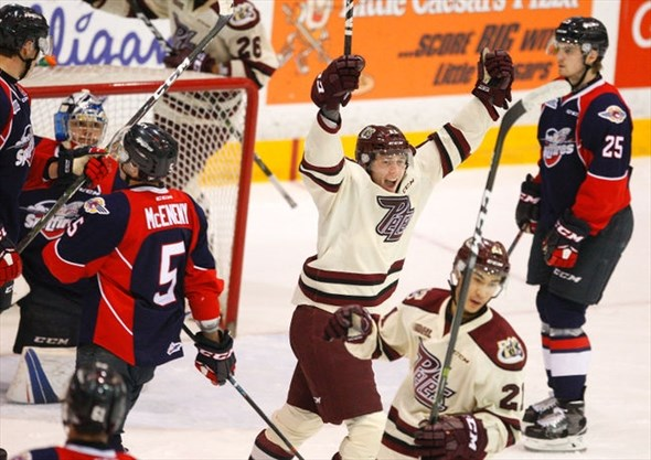 Red-hot Peterborough Petes named honourable mention in
