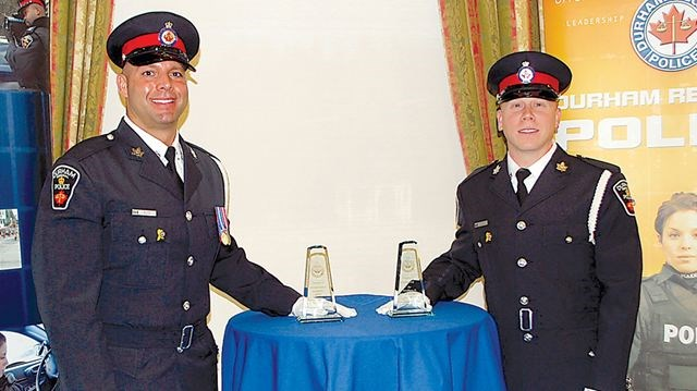 durham police honour officers  civilians
