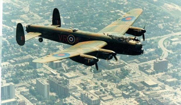 Seat on Lancaster bomber for transatlantic flight fetches