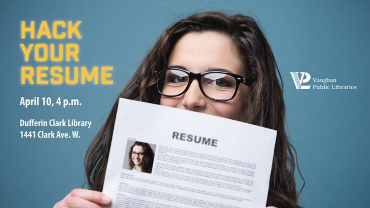 Teens, Get Help With Your Resume On April 10, 2018