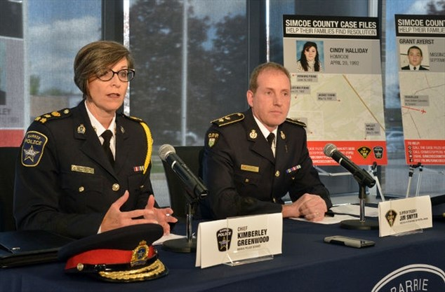 Barrie police, OPP join forces to solve unsolved murders