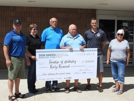 Township of Wellesley receives donations for potential recreation centre