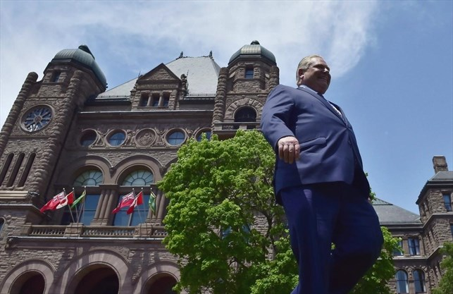 ford-becomes-ontario-premier-friday-but-work-on-key-promises-already-underway
