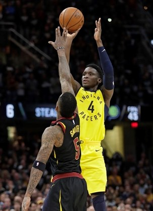 000e51d9ffd Indiana Pacers' Victor Oladipo will be behind the wheel of the Indianapolis  500 pace car Sunday. - Tony Dejak , The Associated Press