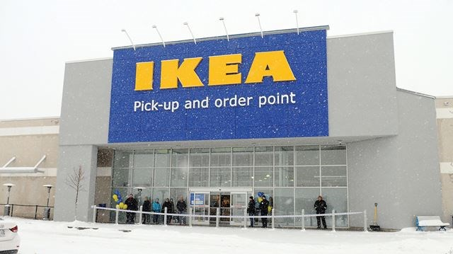 ikea pickup and order point opens in whitby. Black Bedroom Furniture Sets. Home Design Ideas