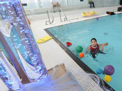 Snoezelen pool opens in malton for Alton swimming pool opening times