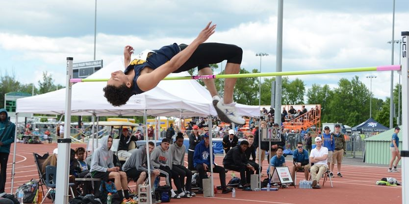 Colborne's high jump star secures silver at Bahamas youth