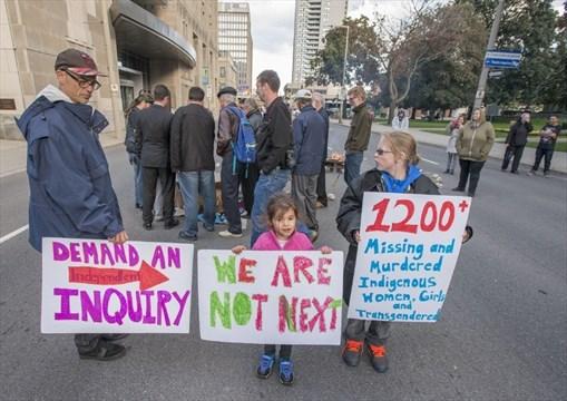 Aboriginal groups demand inquiry into missing women | Mississauga com