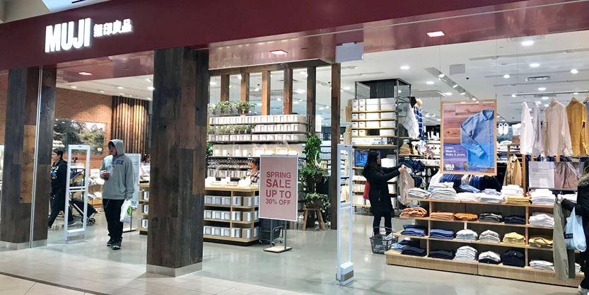 Japanese retailer Muji opens in