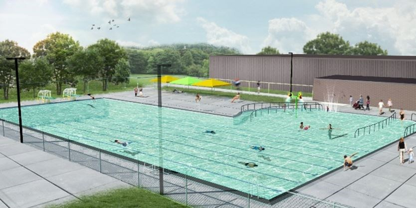 New Burlington Outdoor Pool At Nelson Park Set To Open This Summer