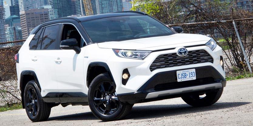 Test Drive 2019 Toyota Rav4 Hybrid Xse Ourwindsor Ca