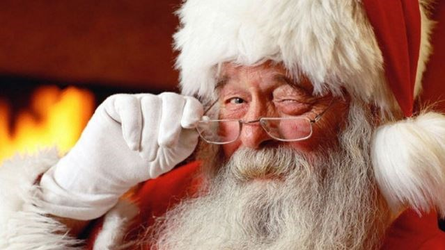 Santa tells young girl that Hillary Clinton made the naughty list