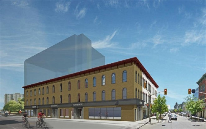 Old American Hotel could be reborn as six-storey condo in downtown ...