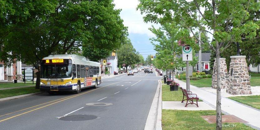 Hamilton transit in Ancaster