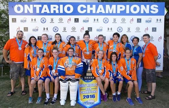 Midget lacrosse Ontario