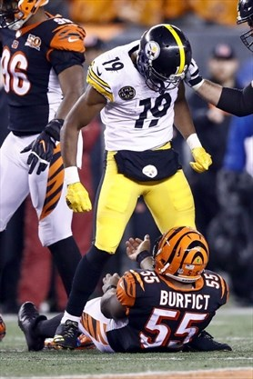 sports shoes 103db 84b43 Steelers' Smith-Schuster, Bengals' Iloka each banned one ...