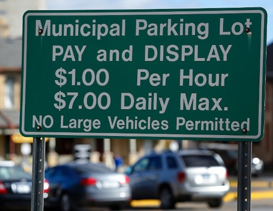 Hourly downtown Peterborough parking rate to rise to $1 25