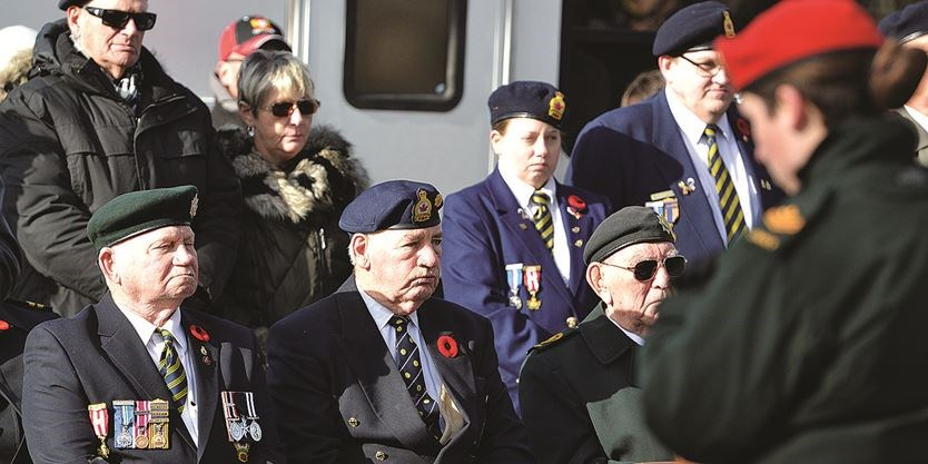 Remembrance Day in Lindsay (3)
