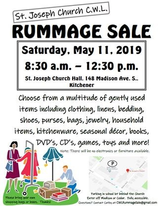 Rummage Sale on May 11,2019 | TheRecord com
