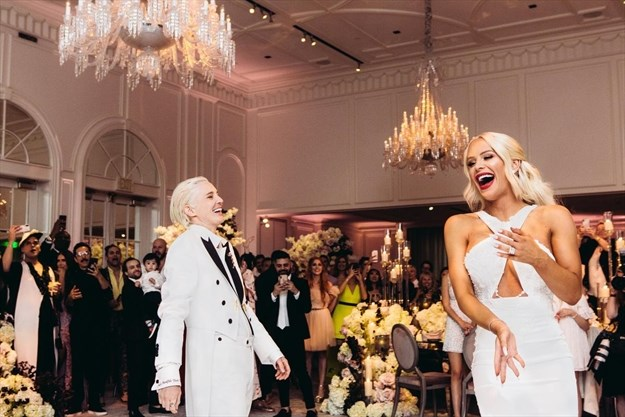 17d8d2beb918a At the wedding of Gigi Gorgeous and Nats Getty   TheSpec.com