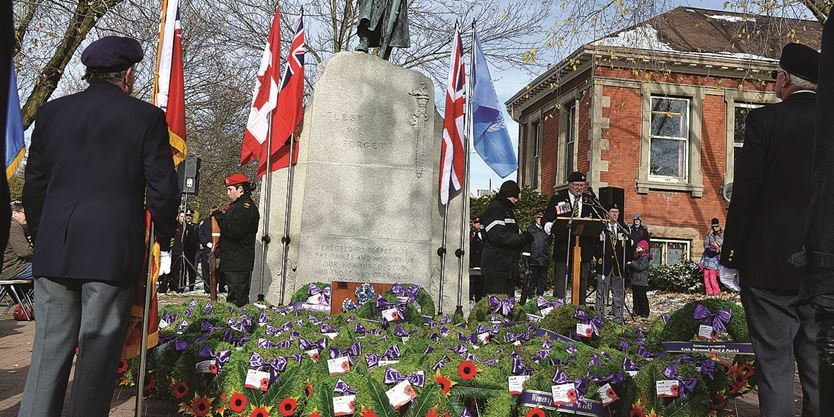 Remembrance Day in Lindsay (7)
