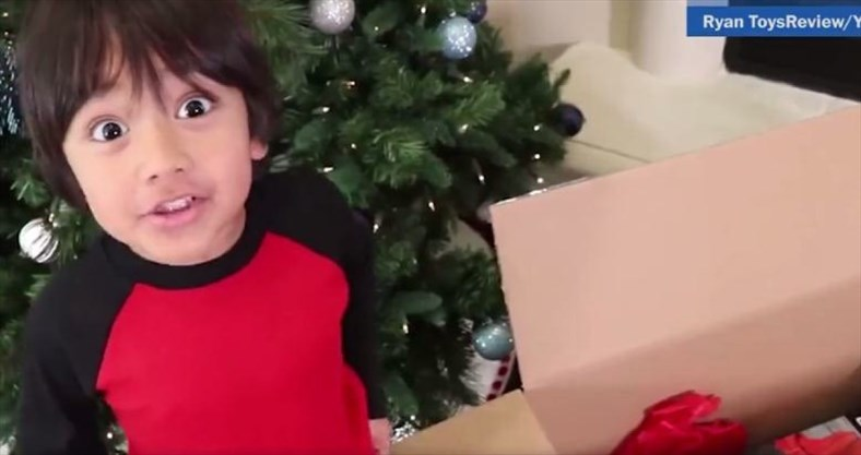 Toys For Boys Six Year : 6 year old made $11 million in one year reviewing toys on you tube