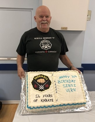 Lindsay Sensei Celebrates Over 50 Years Teaching Martial Arts