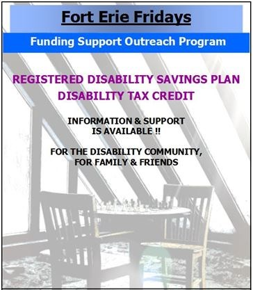 Disability Benefits Support Outreach Program on September 13