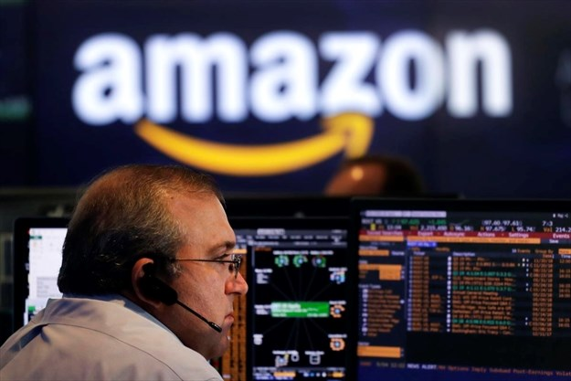 Image result for AMAZON BECOMES SECOND COMPANY TO HIT $1 TRILLION MARK, A MONTH AFTER APPLE