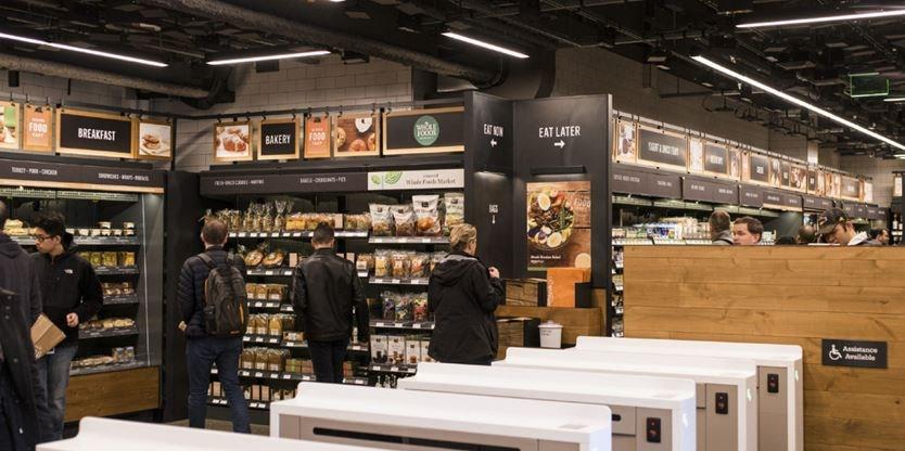 No lines no cashiers no registers amazon s grocery for Amazon design shop