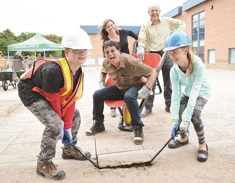 Depave creates green space at Newmarket's St. Nicholas ...