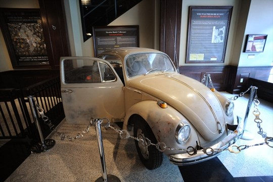 ted bundys vw  controversial display  museum guelphmercurycom