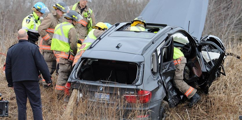 Driver extricated from vehicle in rural Milton crash | InsideHalton com
