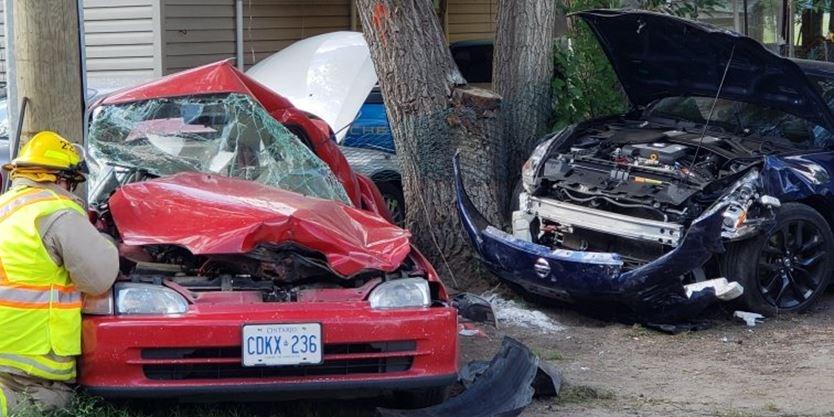Wasaga Beach man charged in three-vehicle crash in Angus