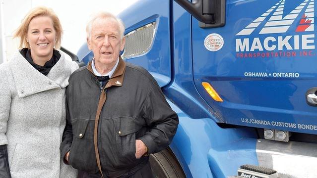 Oshawa S Ross Mackie Honoured With North American Van