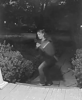 Alleged theft from Guelph porch caught on video, police look to ID suspect